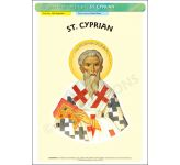 St. Cyprian - Poster A3 (STP1063)