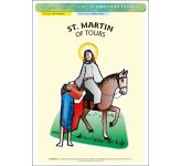 St. Martin of Tours - Poster A3 (STP1089)