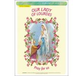 Our Lady of Lourdes - A3 Poster (STP716A)