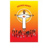 Sacred Heart - A3 Poster (STP728)