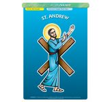 St. Andrew - Poster A3 (STP730B)