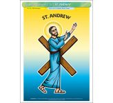 St. Andrew - Poster A3 (STP730BY)