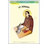 St. Adrian - A3 Poster (STP765)
