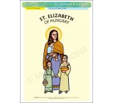 St. Elizabeth of Hungary - Poster A3 (STP789)