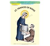 St. Frances of Rome - Poster A3 (STP794)