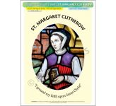 St. Margaret Clitherow- Poster A3 (STP886B)