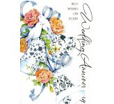 Wedding Anniversary Card (CT7009)