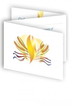 Certificate - Reception of Adults - pack of 10 three-fold cards