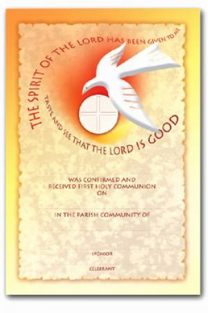 Certificate Communion Amp Confirmation Cc1