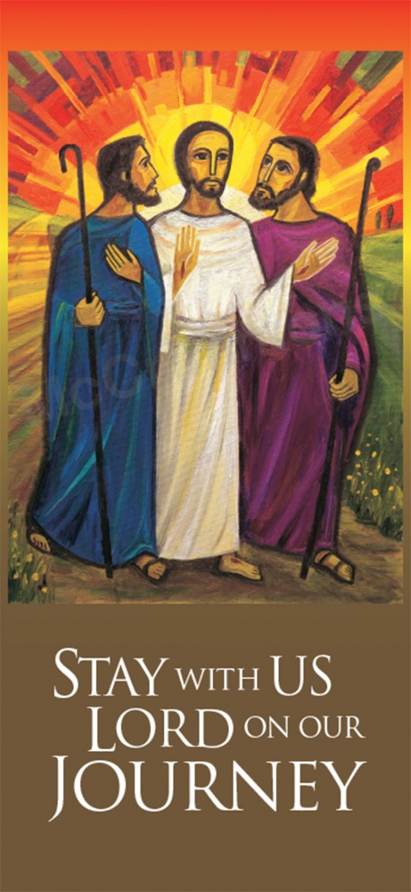 Stay With Us Lord On Our Journey Emmaus 2 Banner Ban1602