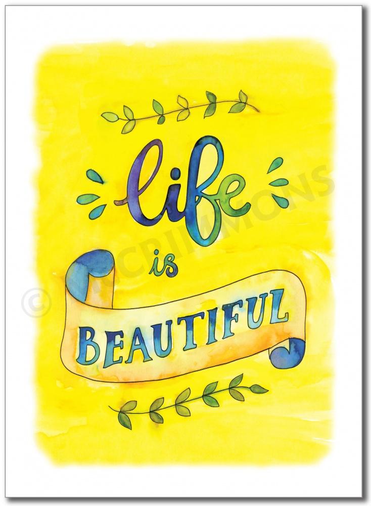 BAN671 - Life is beautiful.jpg
