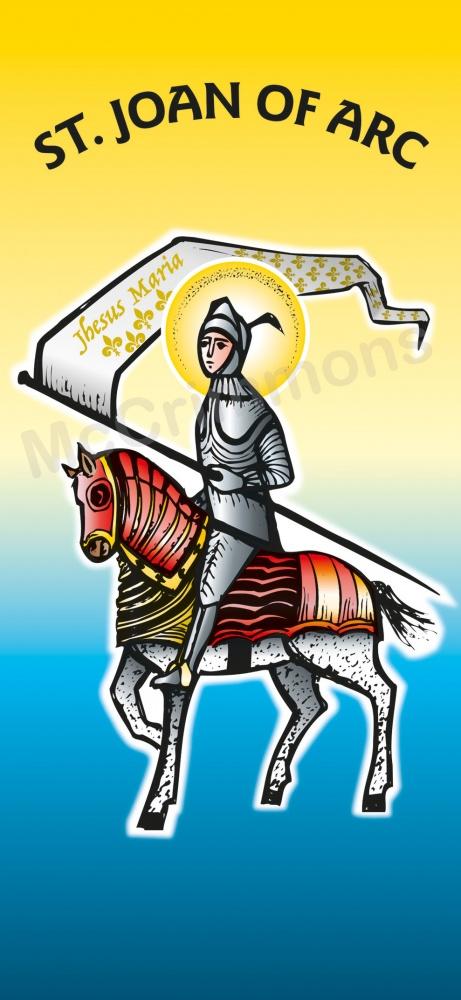 St Joan Of Arc Banner Ban870