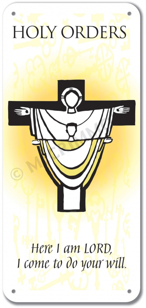 The Sacramental Life Holy Orders Display Board