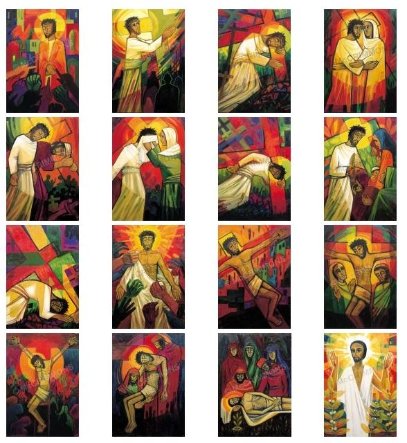 The Footsteps of Christ A2 Poster Set