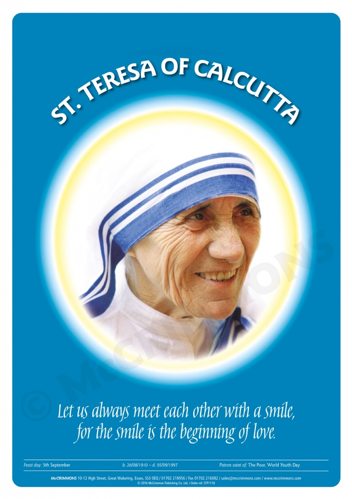 mother teresa the private writings of the saint of calcutta Mother teresa : come be my light : the private writings of the saint of calcutta / during her lifelong service to the poor, mother teresa became an icon of.